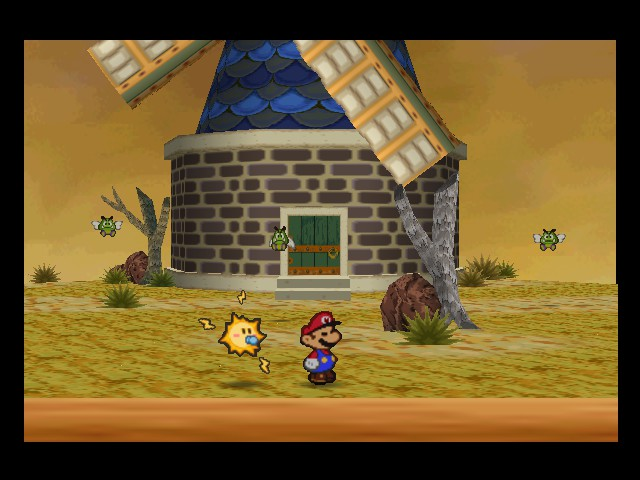 Paper Mario - windy mill - User Screenshot